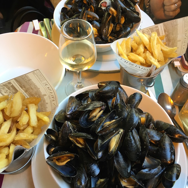 Le Marche Mussels and Frites