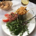 Salmon Tartare et Frites   Paris 11th Tour   DeliciousPerspective.com