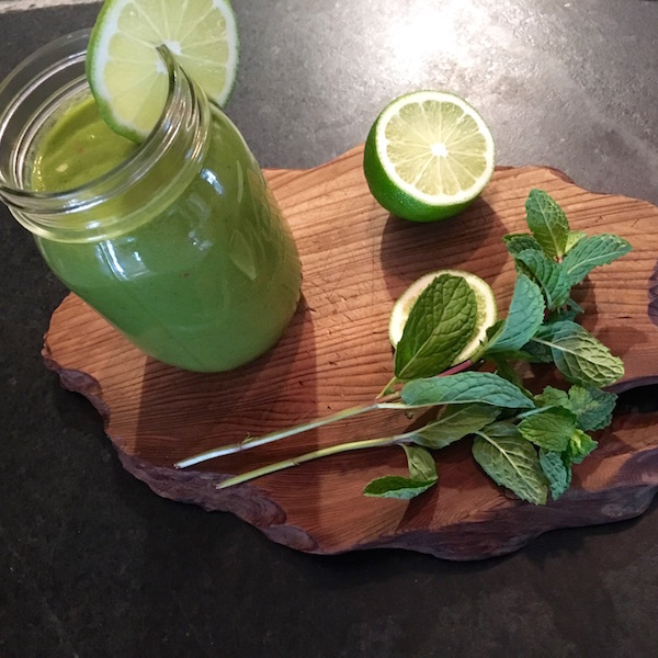Refreshing and Energizing Green Smoothie || DeliciousPerspective.com