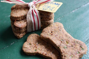 Olive's favorite homemade dog biscuits