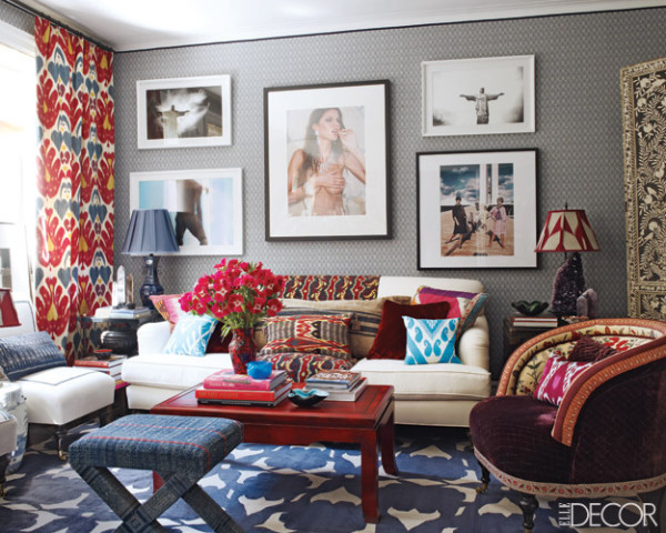 Ottoman and Accent Chair