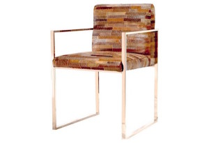 Leather Patchwork Armchair | One Kings Lane | DeliciousPerspective