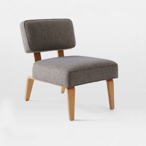 Bentwood Slipper Chair West Elm | DeliciousPersepctive