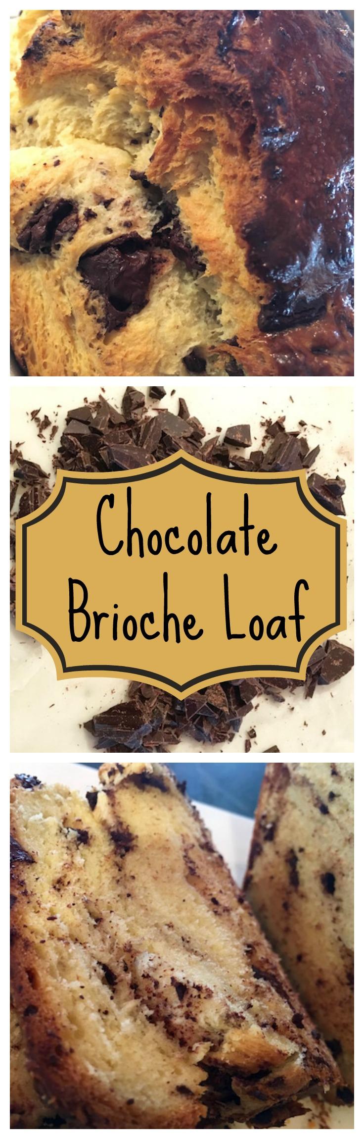 Chocolate Brioche Loaf - DeliciousPerspective.com